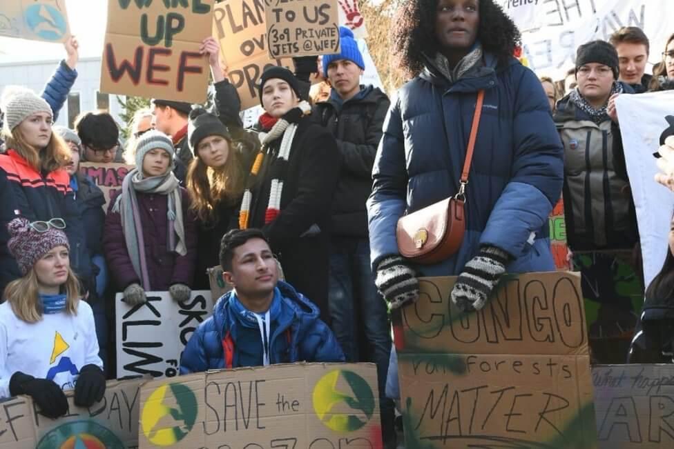 School Strike Week 75, Davos