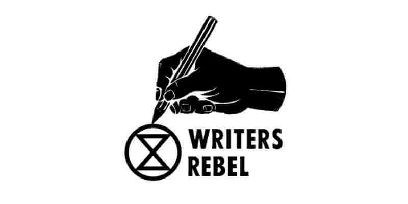 XR Writers Rebel graphic.
