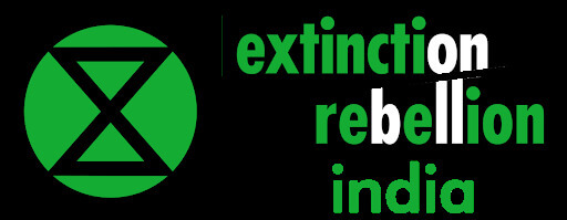 Логотип Extinction Rebellion Индия