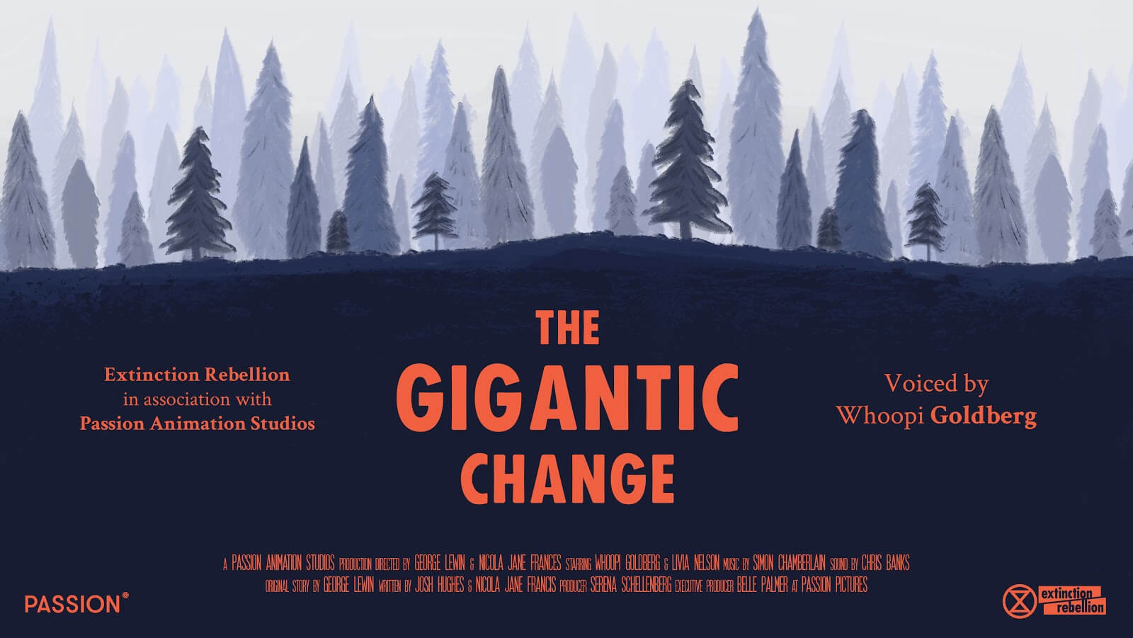 "Ulotka filmu ""The Gigantic Change"""
