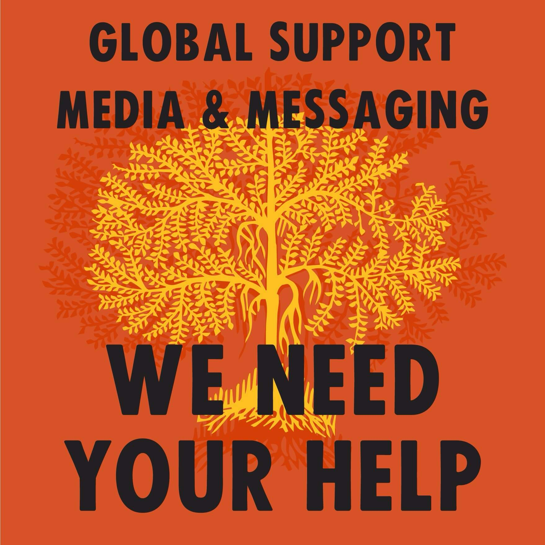 Join Extinction Rebellion Global Support Media and Messaging